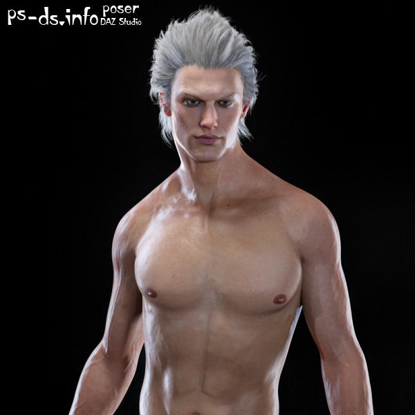 Vergil Devil May Cry 5 for Genesis 8 Male
