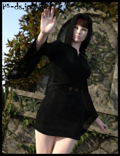dForce The Latest Witch for Genesis 8 Female