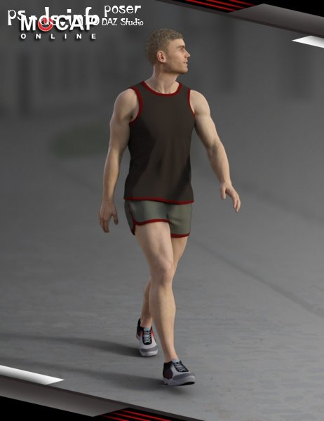 Walks Animation Collection - Michael 8