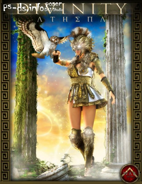 Athena For Genesis 3 And 8 Female