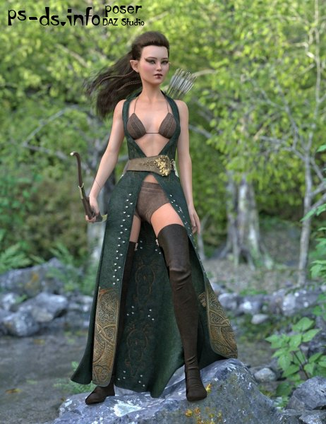 dForce Azahara Outfit for Genesis 8 Female(s)