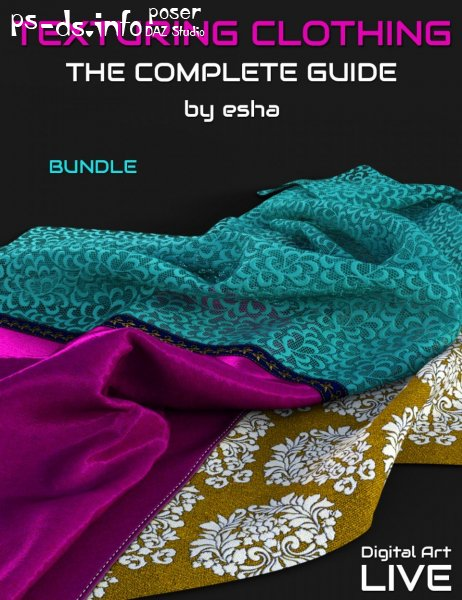The Complete Guide to Texturing Clothing - Bundle