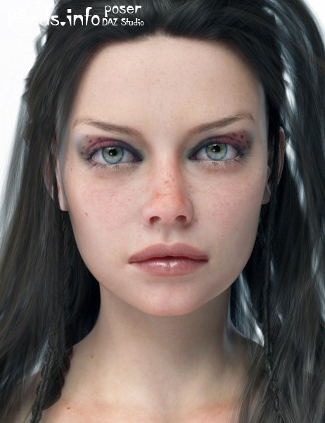 Aino HD For Genesis 8 Female