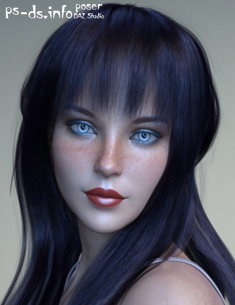 XF-Diana for Genesis 8 Female