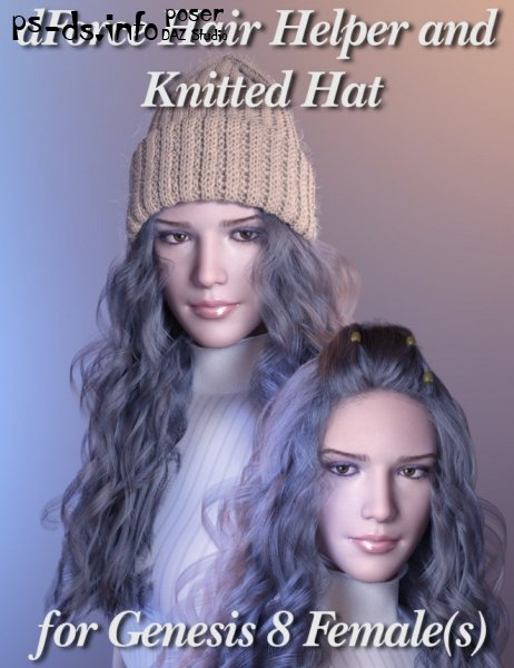 dForce Hair Helper and Knitted Hat