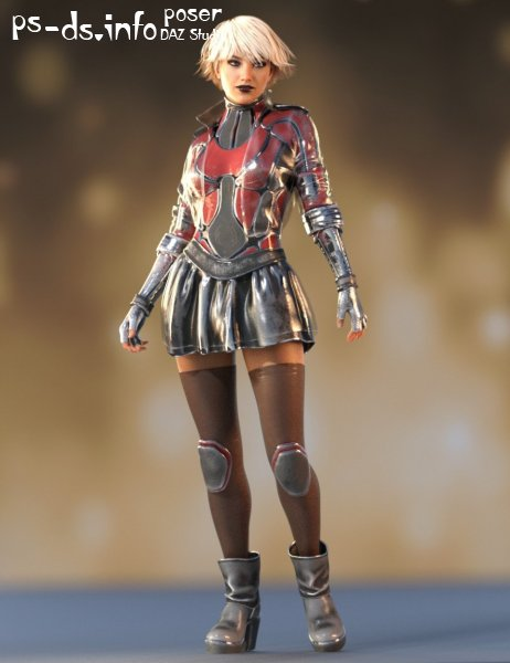 Fury Outfit for Genesis 8 Female(s)