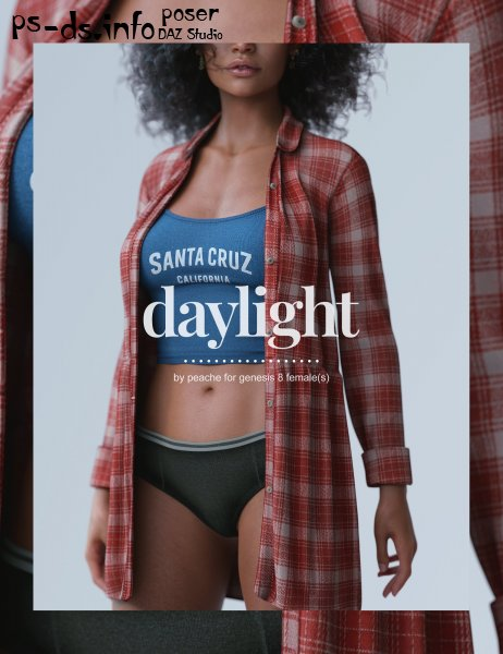 dForce Daylight Outfit for Genesis 8 Females