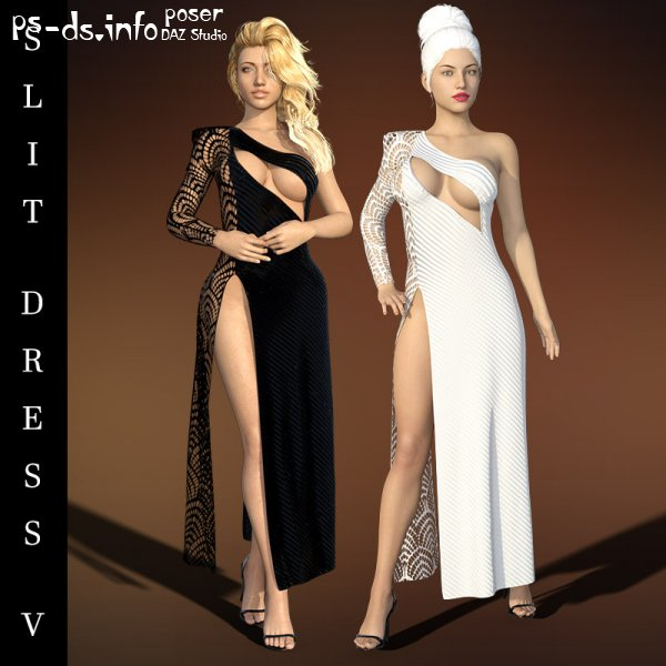 dForce Slit Dress V G8F