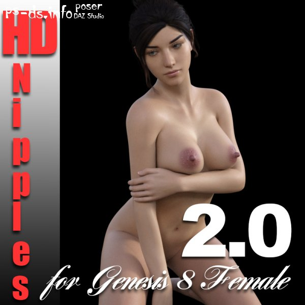 HD Nipples for G8F - 2.0 (Update 29-04-21)
